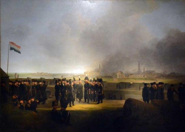 generaal chassé na bombardement antwerpen 1830